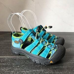 Keen Newport H2 Blue Toddler Water Shoes